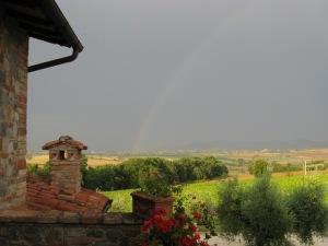 Poggio di Cantagallina (PG), arcobaleno